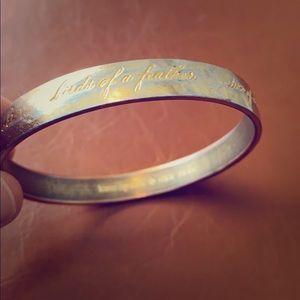 Kate Spade Best Friend Ever gold bracelet